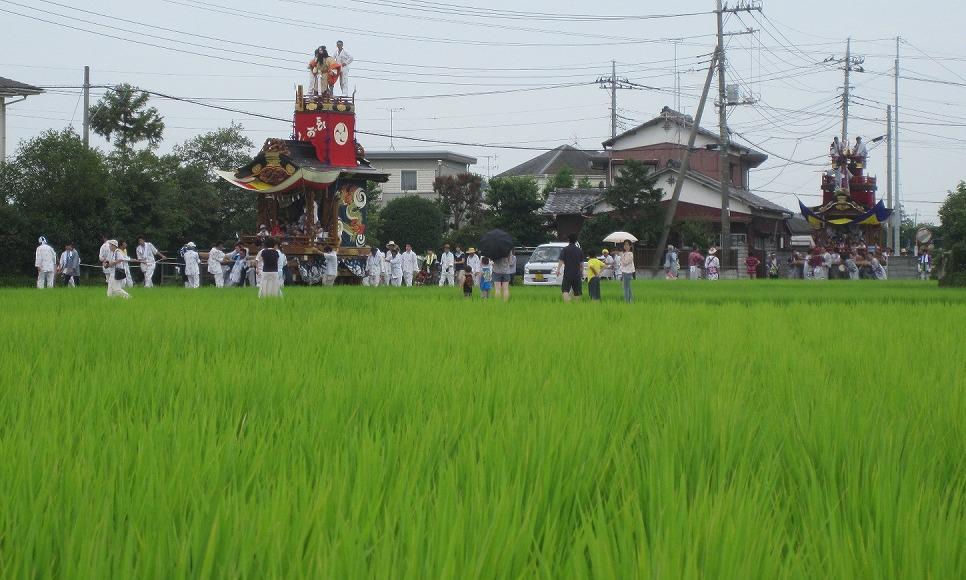 埼玉県久喜市「提燈祭り」