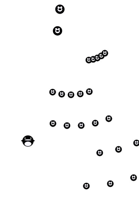 分裂弾を発射する(シューティングゲーム)