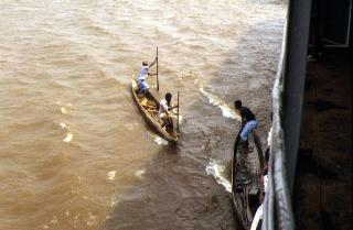 コンゴ川 船の旅